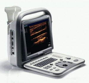 SonoScape A5v portable veterinary ultrasound machine